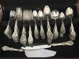 Reed and Barton Sterling Silver Flatware Set