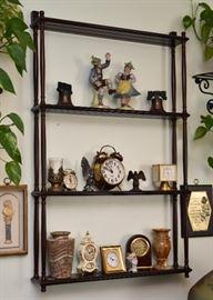 Wall-Mount Display Shelf