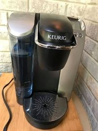 #9	Keurig Coffee Maker w/wood coffee Tray	 $100.00
