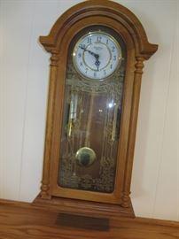 Strausburg Manor wall clock