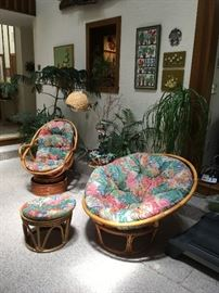 Rattan furniture in beautiful condition