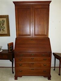 Craftique Mahogany Blind Door secretary/desk