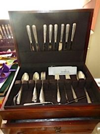 "49 pieces Sterling Towle ""Candlelight"""