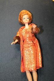 Bubblecut Titian Red Hair 1960's Barbie