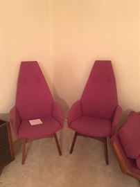 Two Arm Chairs Adrian Pearsall
