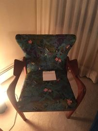 Wing Back Chair)Adrian Pearsall