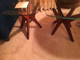 Pair of Jack legs end tables Adrian Pearsall