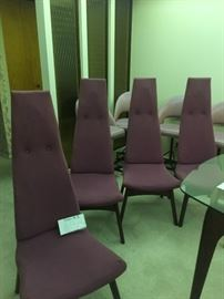 (Set of 4 dining room chairs)Adrian Pearsall
