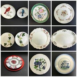 Collage Decorative Plates