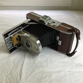 Polaroid Land Camera, Model 95A   https://ctbids.com/#!/description/share/32338