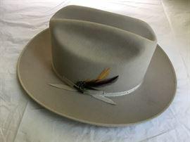 Stetson, LBJ Style Hat     https://ctbids.com/#!/description/share/32340