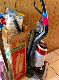 HOOVER VACUUM CLEANER WITH ATTACHMENTS WITH ORIGINAL BOX