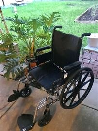 WHEELCHAIR IN EXCELLENT CONDITION