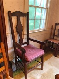 Antique Captains chair for the man in the house