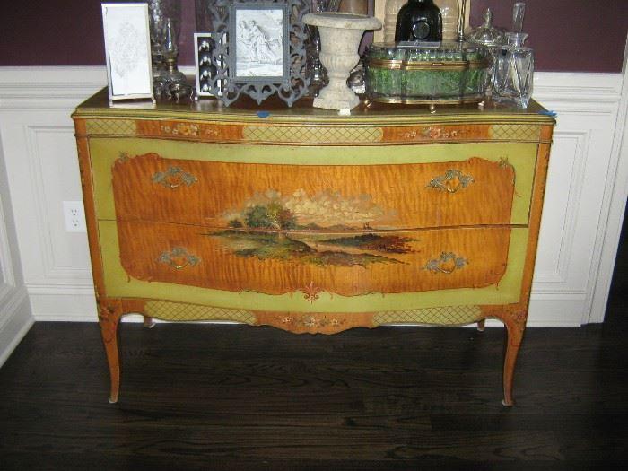 robert irwin painted chest