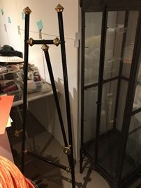 New Black and Brass tone decorative easel