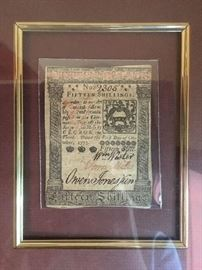 Original Colonial Currency