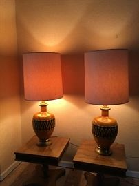 Haeger Pottery Lamps