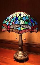 Tiffany Style Dragonfly Lamp