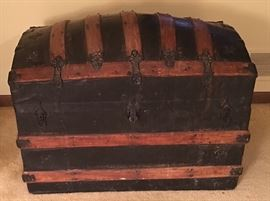 Antique Trunk by M.M. Secor (Wisconsin)