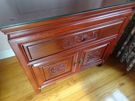 Small Rosewood Cabinet