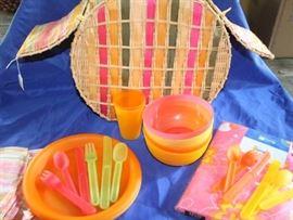 Cool picnic basket
