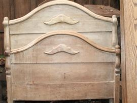 Early twin bed
