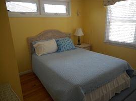 Good quality wicker bedroom set