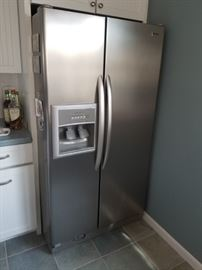 "Kenmore refrigerator 36"" wide x 70"" tall"