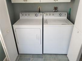 GE Washer & GE gas dryer