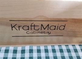Kraftmaid Kitchen Cabinet detail