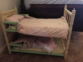 Cabbage Patch kids bunk bed