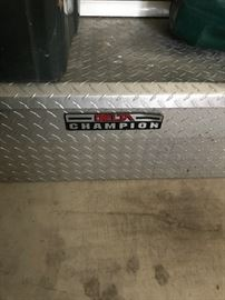 Ford F150 Tool Box- Diamond Plated