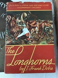 1942 Longhorns Book by Frank Dobie