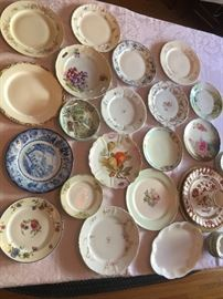 Painted China Plates