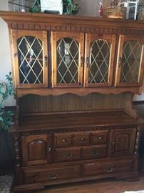 China Hutch - Solid Wood