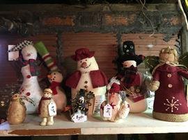 Snowmen, Santas, Angels
