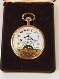 Colibri 17 Jewel Swiss Pocket Watch.