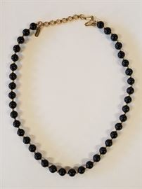 Black Onyx Necklace.