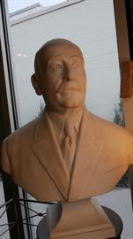 Marble Statue of Stalin.