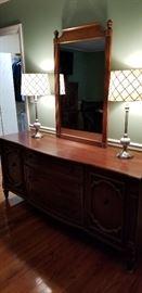 Mid-Century Queen Size Bedroom Suite