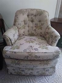 second overstuffed chair