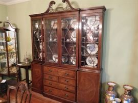 Baker   china  cabinet