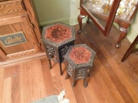 small oriental  tables