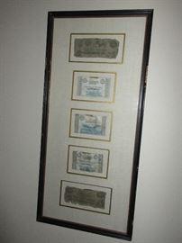 Marcus Walker's plantation monetary notes  Plantation owner form Louisiana