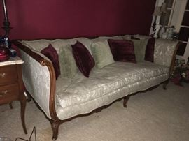 Lovely Parlor Style Sofa...Wood Frame