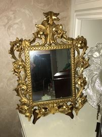 Very Unique Ornate Mirror....3D