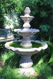 Gorgeous 3 tier fountain