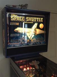 Original 1984 Space Shuttle Pinball Machine
