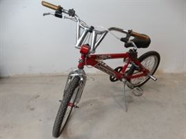 Red Mongoose Boys Bike